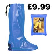 Blue Pocket Festival Wellies